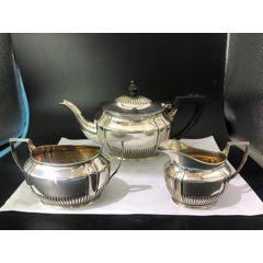 西洋古董纯银英国茶壶三件套(sh90231365)_7788旧货商城__七七八八商品交易平台(7788.com)