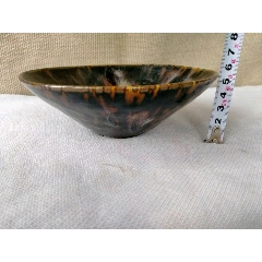 老窯瓷窯變釉瓷碗
