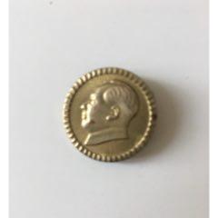 毛主席銅像章