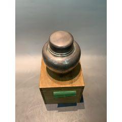 純銀茶葉罐