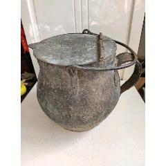 民國銅砂罐(超大)