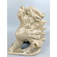 高古象州瓷獸擺件