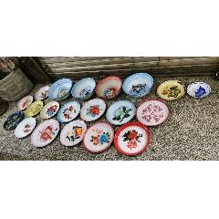 各種搪瓷盤,盆