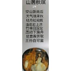 天然奇石《浣女春芳秋松泉》(sh108793486)_7788收藏__收藏热线