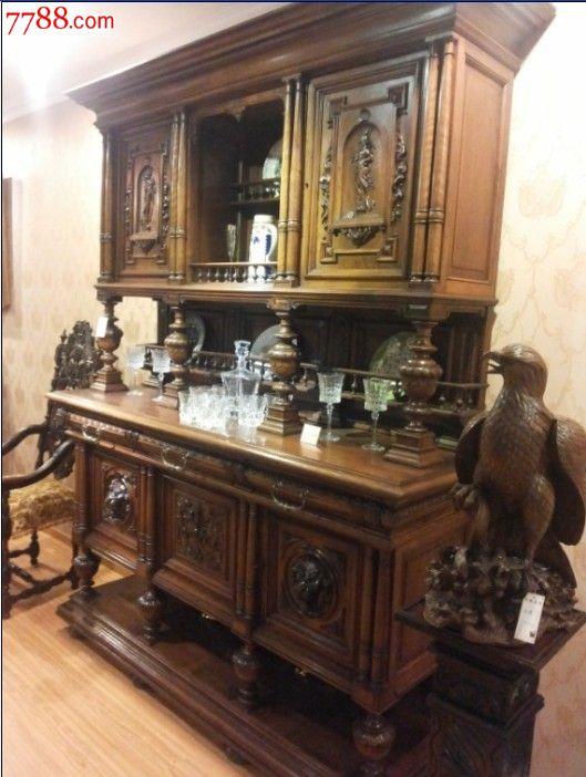 木柜/木橱--第1图:欧式古董家具——西洋古董家具
