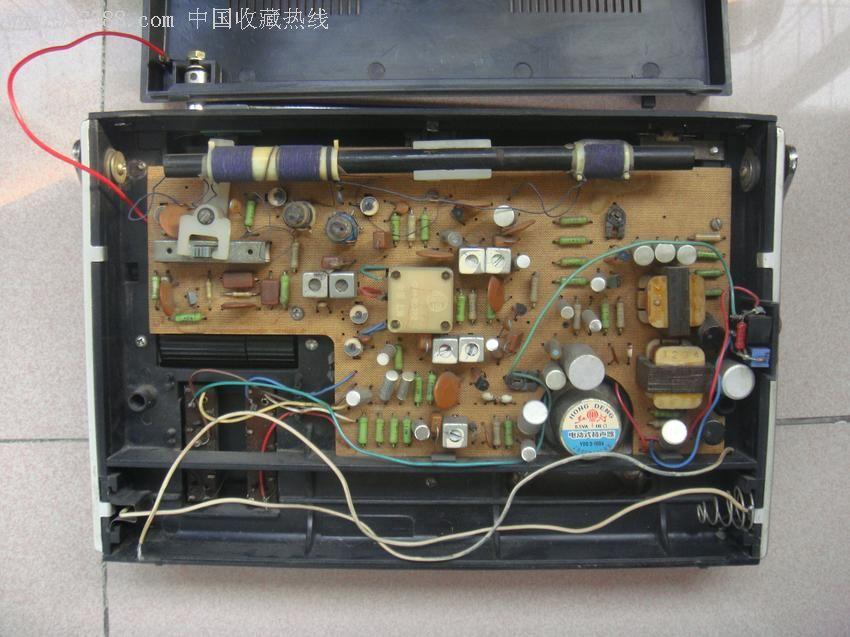 3p8型-春雷收音机《少见的出口机型》