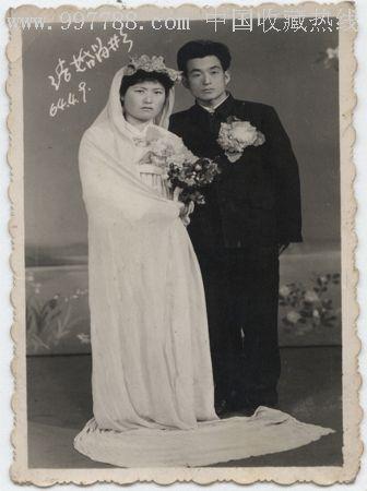 族结婚照_老照片图片