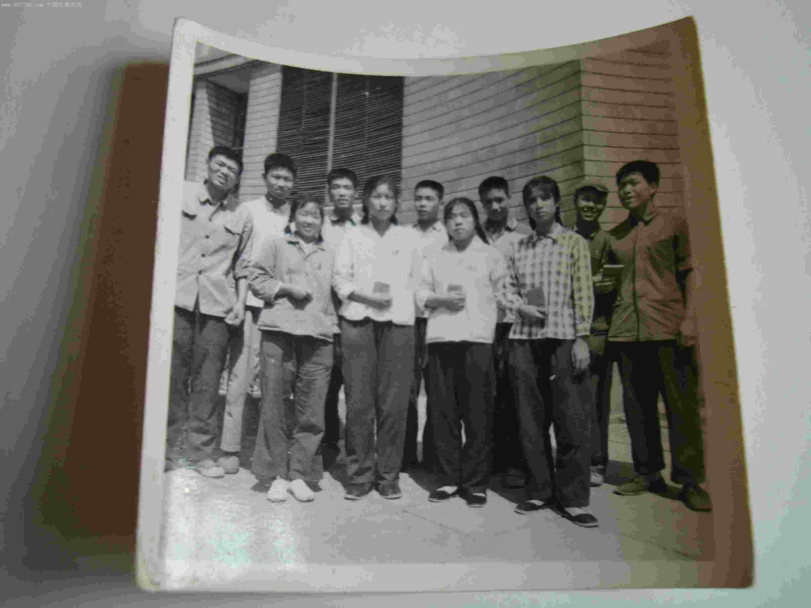 五年级二班欢送上山下乡同学留影1968.6.20