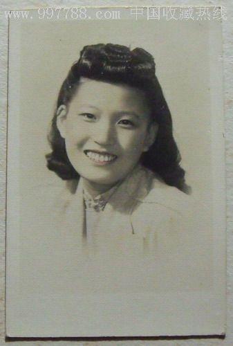 民国美女照片(流行时髦发型)