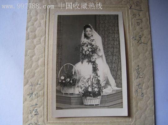 民国新娘子婚纱照片