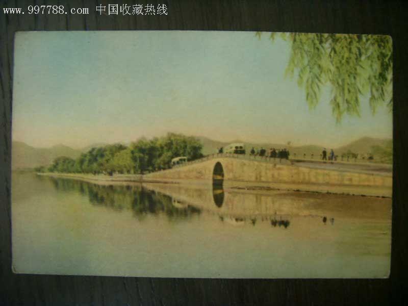西湖人物--风景明信片