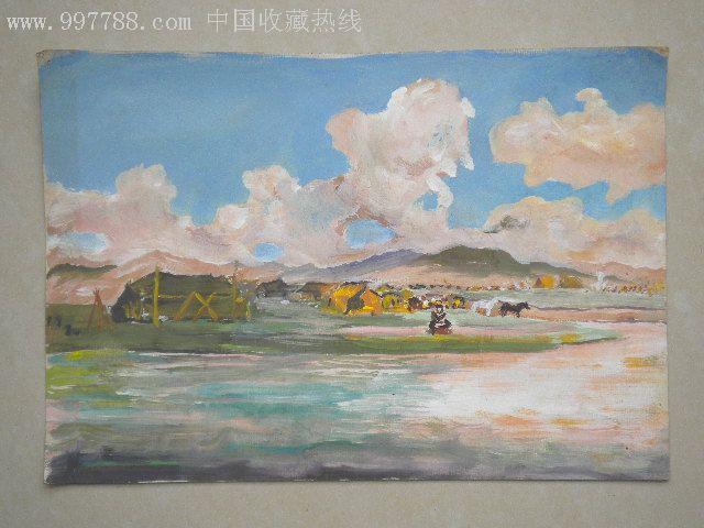 中国水粉画大师