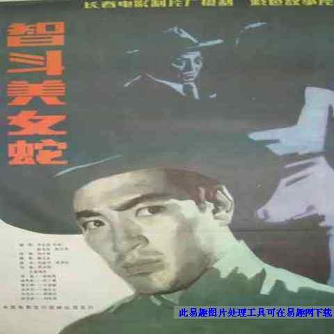 智斗美女蛇 电影海报