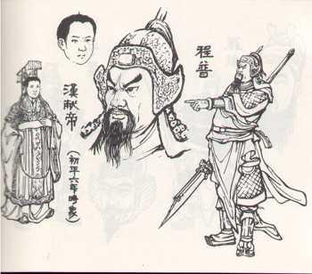 《三国演义》连环画人物绣像