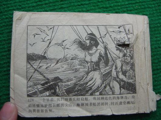 蓝色的海豚岛-连环画/小人书--se2879057-零售-中国
