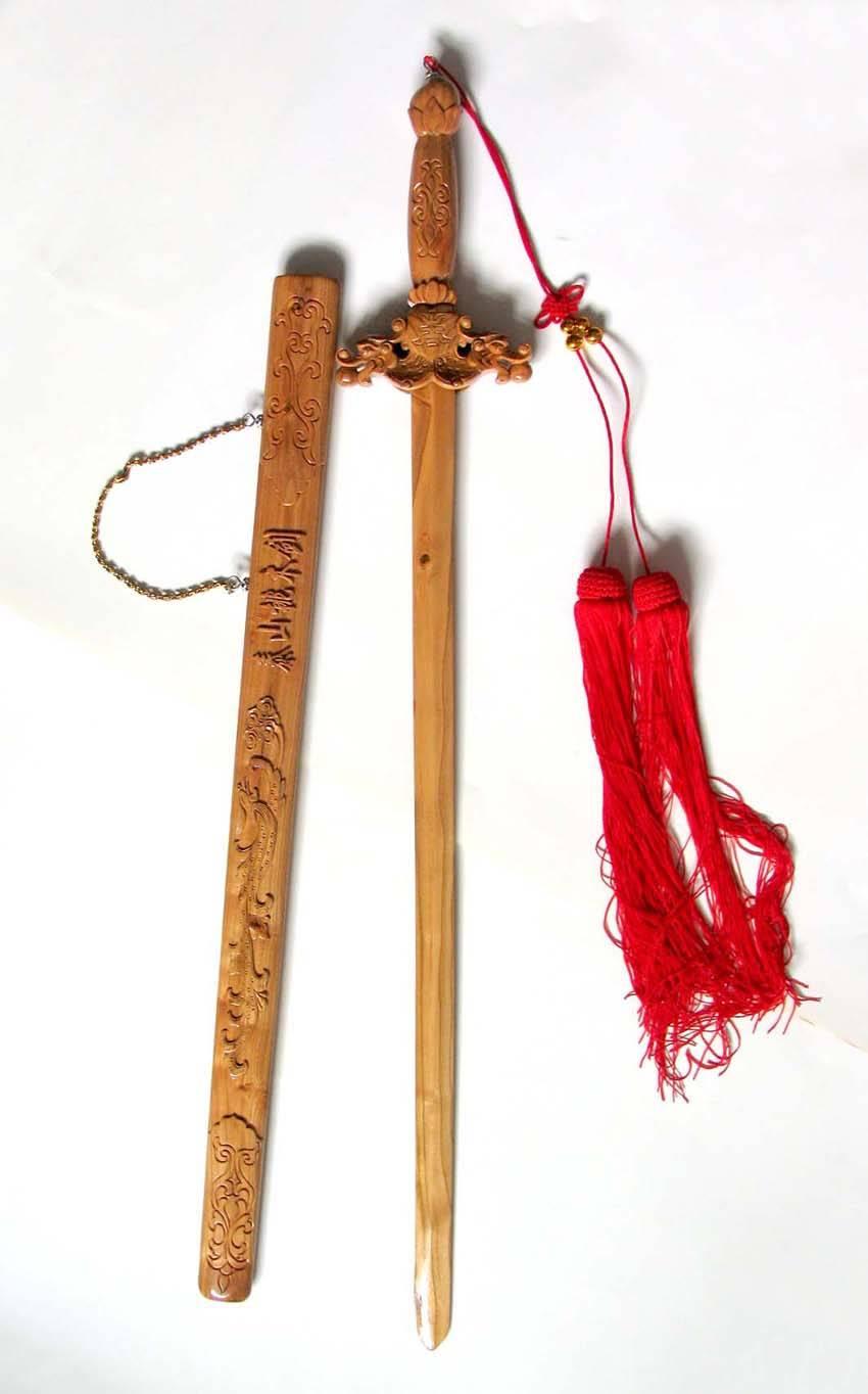 泰山桃木剑
