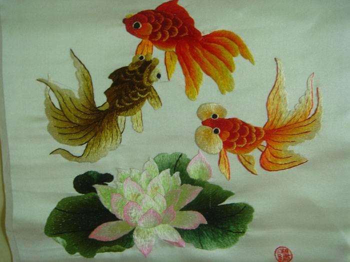 织锦刺绣收藏精品 精品花卉7