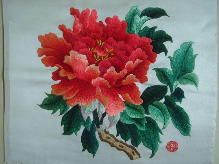 织锦刺绣收藏精品 精品花卉5