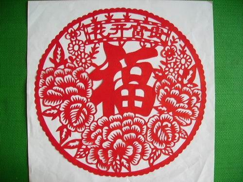 花开富贵-价格:50元-se2339612-剪纸/窗花-零售-中国