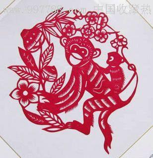 中国民间艺术剪纸
