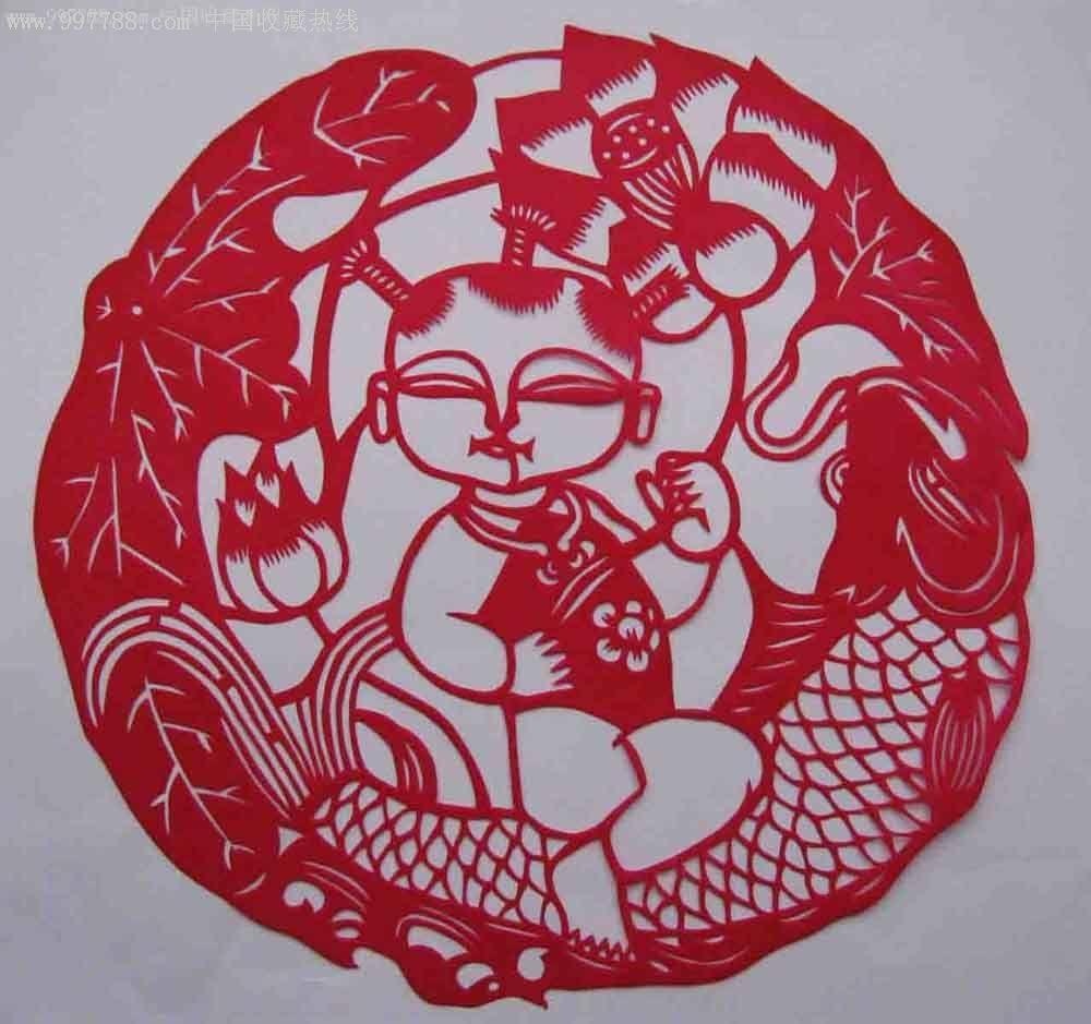 中国民间艺术剪纸_价格20