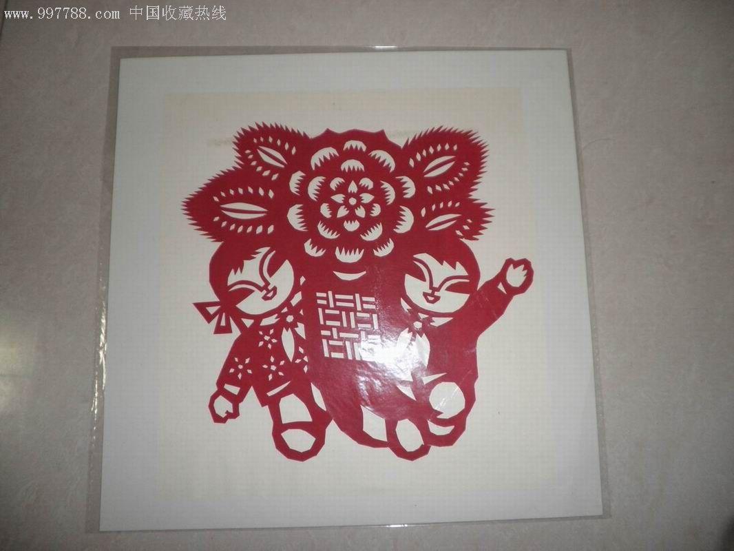 中国娃剪纸--10张