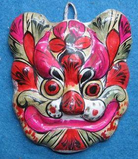 中国陕西泥面具-价格:50元-se1622563-泥塑脸谱-零售