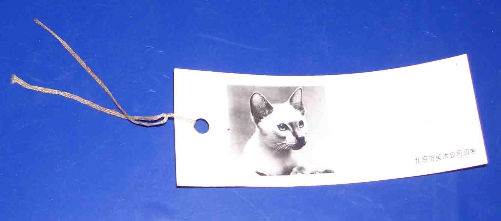 美术杂志书签--小猫[相纸质]_价格元_第1张_中国收藏热线