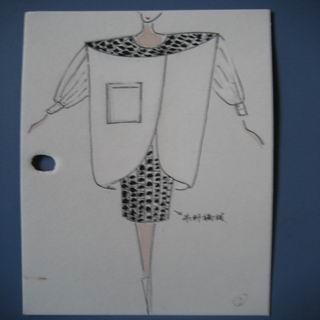 服装设计原稿