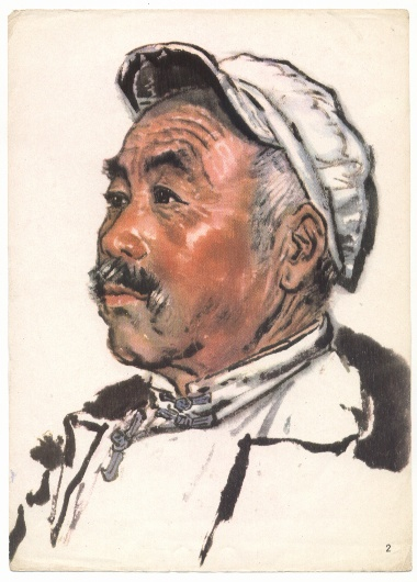 人物画片-中国画