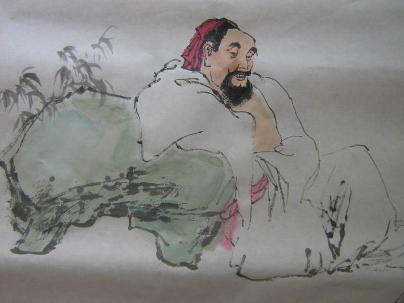 中国画人物《雅集图》