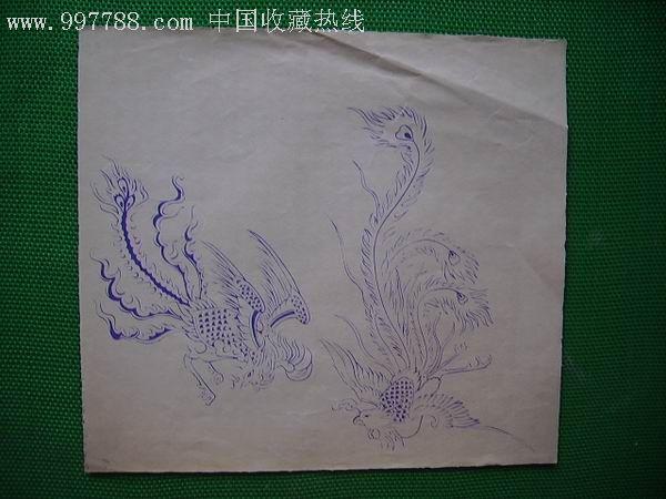 ,素描 速写,圆珠笔画原画,动物,六十年代 ,其他开张,se