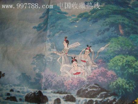 仙女水粉手绘图