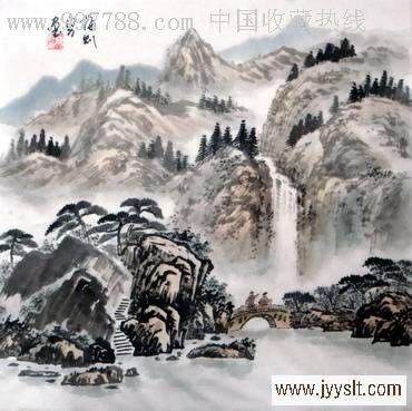 中国名家山水画图片