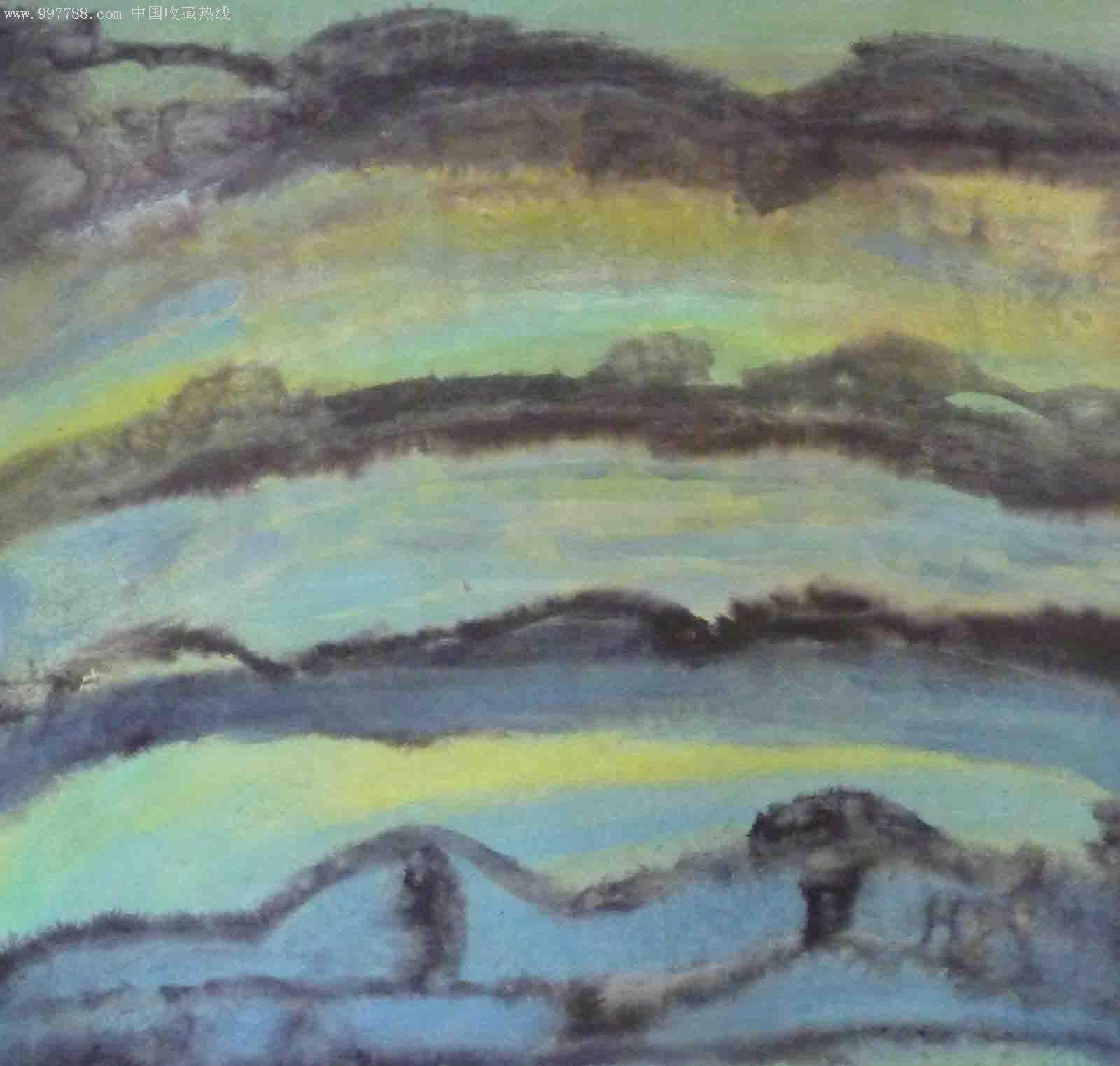 珠海天艺阁抽象油画作品欣赏-珠海天艺阁