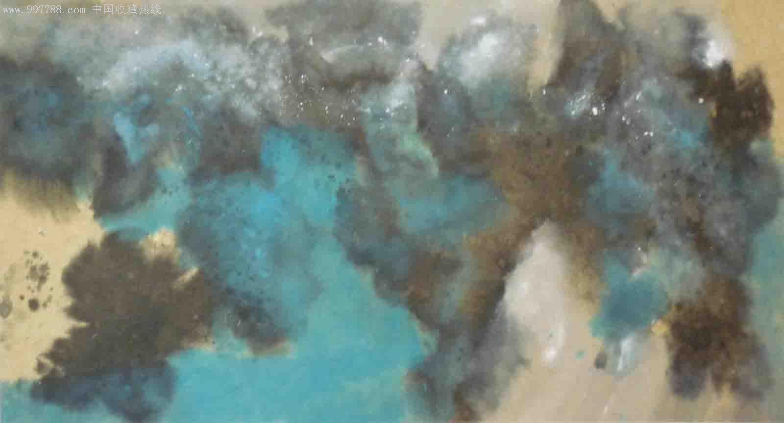 抽象油画作品欣赏