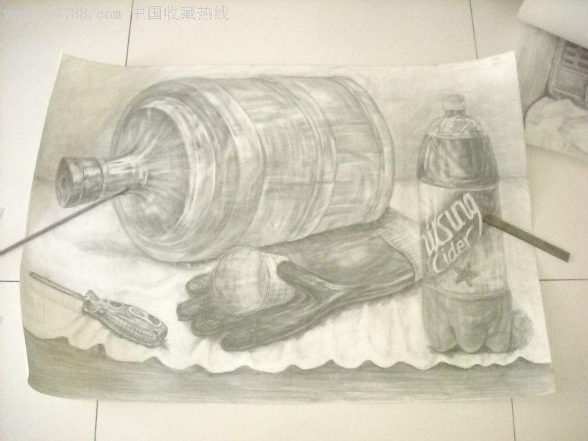 静物素描6