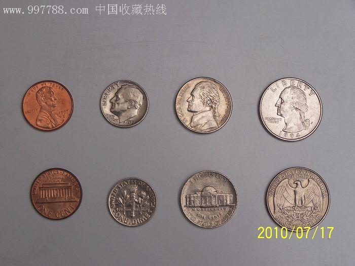 美国硬币 价格元