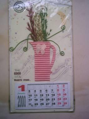 漂亮的手工小年历一-价格:5元-se1373386-年历卡/片图片
