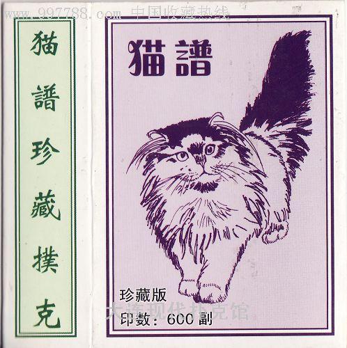 晚安猫的谱子-猫谱扑克