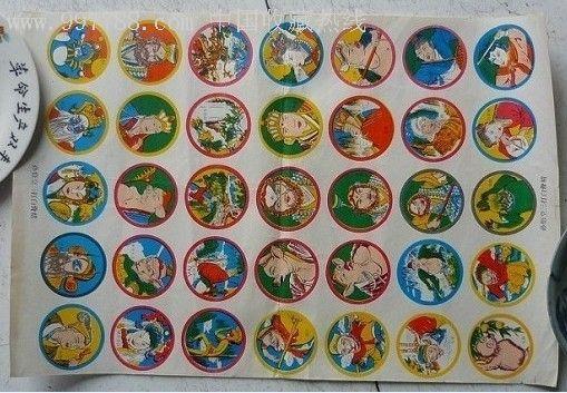 小时候最时髦的玩具-扇啪叽