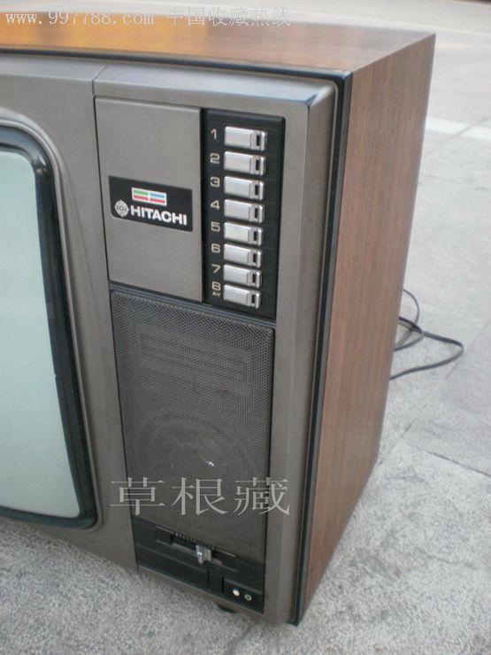 """日立22""""彩色电视机日本原装"""