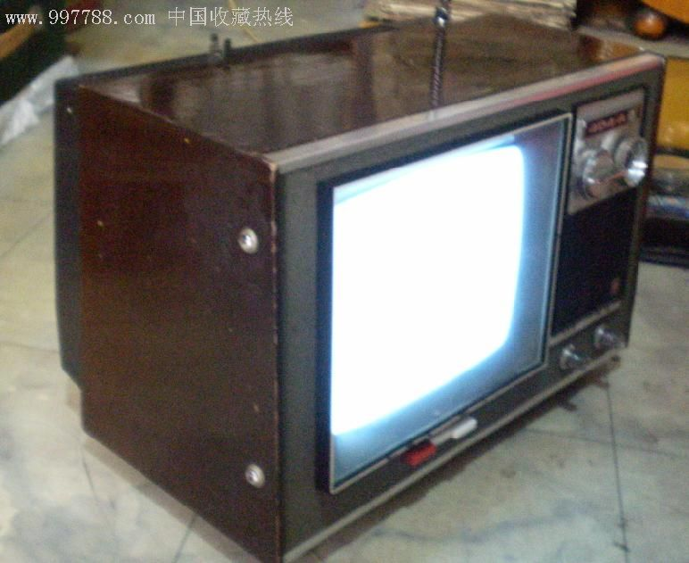 凯歌牌4d4--a型9寸电视机,电视机,显像管电视机,文革