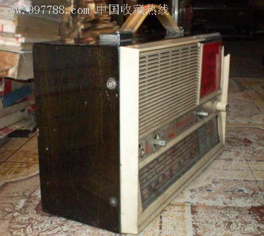 红旗604-3波段6晶体管收扩音机[带说明书]