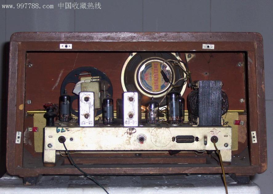 海河356型5灯电子管收音机