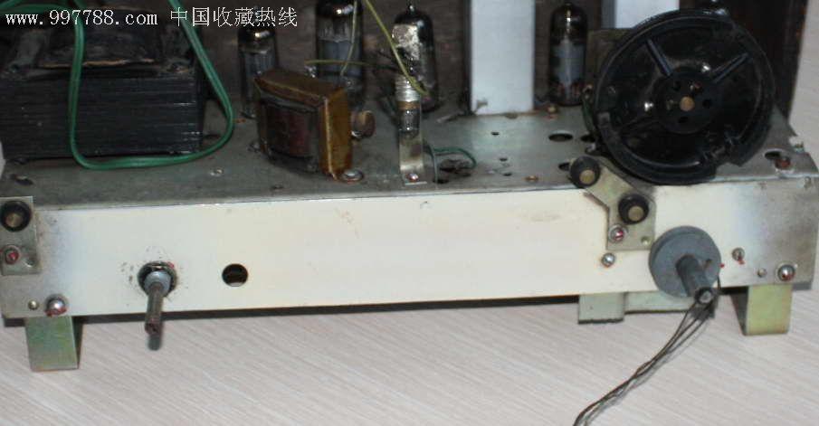 牡丹624电子管收音机,收音机