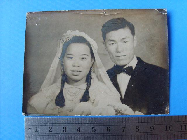 民国早期的欧式结婚照