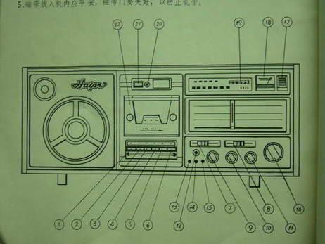 6701型海燕收音机说明书