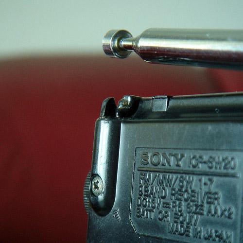 索尼icf-sw20和伯龙hs-902两台相近收音机