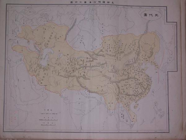 支那疆域沿革图(清朝时期)